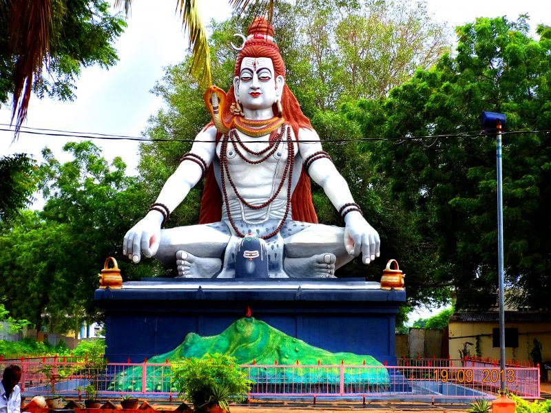 Lord Siva Statue Front